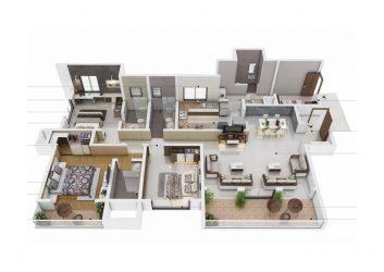 sobha nesara premium luxurious homes kothrud pune - 3 - Sobha Nesara Premium Luxurious 3, 3.5 & 4.5 BHK apartments in Kothrud, Chandani Chowk