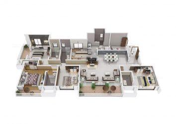 sobha nesara premium luxurious homes kothrud pune - 4 - Sobha Nesara Premium Luxurious 3, 3.5 & 4.5 BHK apartments in Kothrud, Chandani Chowk