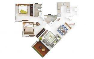eon homes - 2 BHK 721 sqft - EON Homes