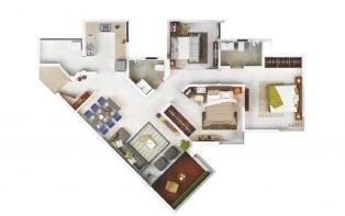 2.5 BHK 823 sqft eon-homes eon homes - 2 - EON Homes
